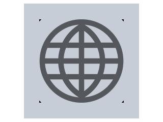 Internet service provider icon